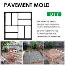 VOGVIGO Garden Pavement Mold Garden Walk Pavement Concrete Mould Manually Paving