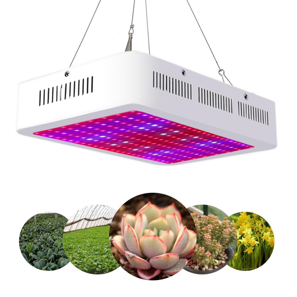 2000 Вт двойные чипы 380 730nm полный спектр света Светодиодный светильник роста растений белый