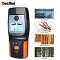 RuoShui 518 настенный сканер металлоискатель найти металл  дерево  штифты многофункциональный кабель переменного тока живой провод Предупрежде...