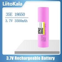 Nuova batteria al litio Liitokala 35E originale power 18650 3500mAh 3.7v 25A ad alta potenza INR18650 per utensili elettrici