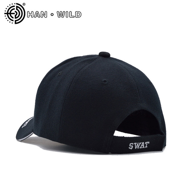[HAN WILD] Tactical Cap Mens Baseball Cap Brand SWAT Cap SWAT Hat Snapback Caps Cotton Adjustable Gorras Planas Man 3