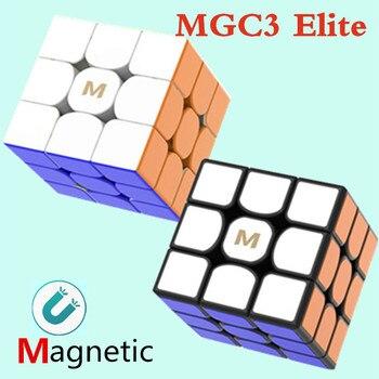 YJ MGC3 Elite M 3x3 Cube  YJ MGC Elite magnetic cube yongjun MGC3 Elite magnets puzzle speed cubes Toys for Children цена 2017