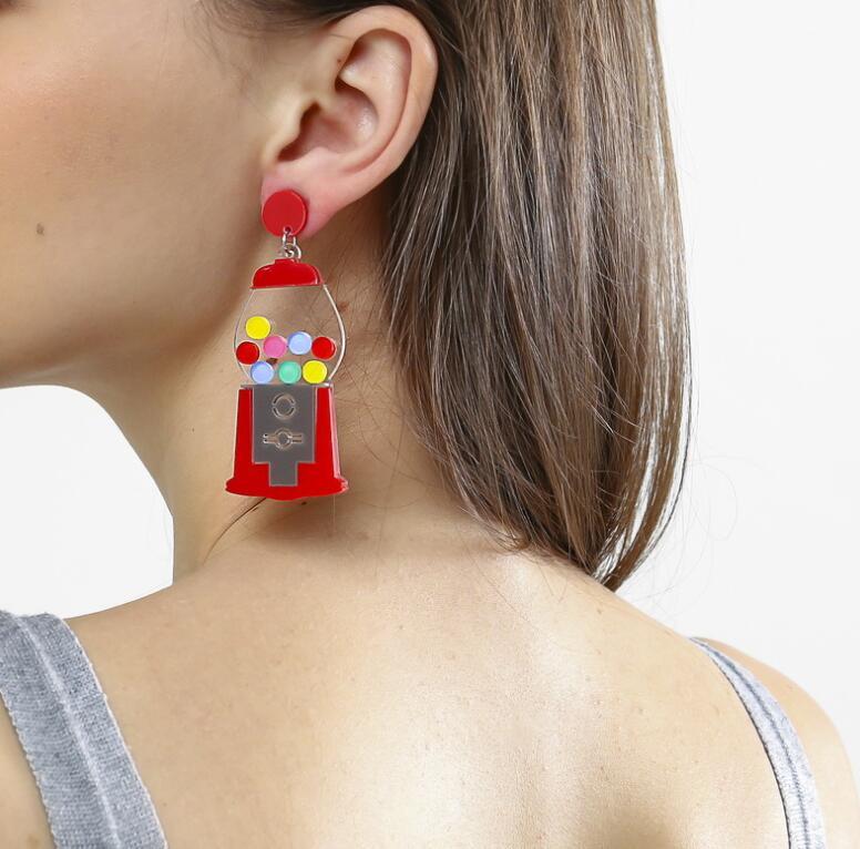 Earrings For Women Kelly Earrings Fashion Charm Eardrop Hip Hop Girls Gift Cute Sweet Heart Exaggeration Special Creativity 4