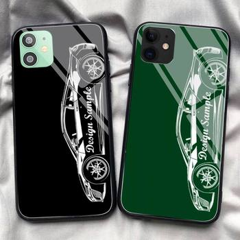 Volkswagen Karmann Car Sample Phone Case Tempered Glass For IPhone 11 Pro XR XS MAX 8 X 7 6S 6 Plus SE 2020 12 Pro Max Mini Case image