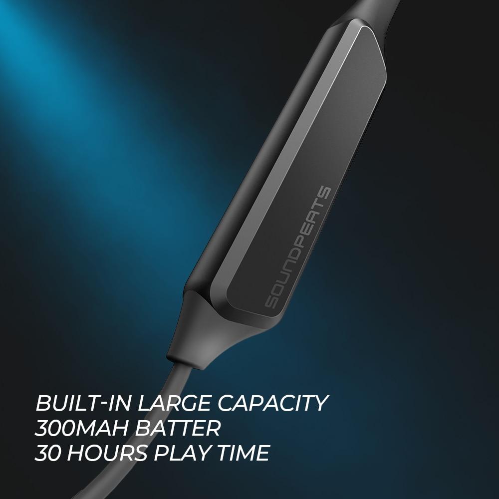 SoundPEATS Bluetooth écouteurs sans fil Bluetooth écouteurs avec micro intégré stéréo basses intra auriculaires magnétiques écouteurs tour de cou casque-in Écouteurs et casques from Electronique    2