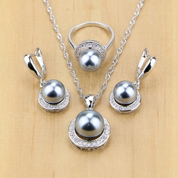 Simulated Pearls With Beads Jewelry Set Jewelry Pearl Jewelry