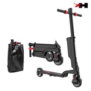 Image 1 - X6 2019 più alla moda per adulti elettrico citycoco scooter kick elettrico pieghevole scooter per adulti