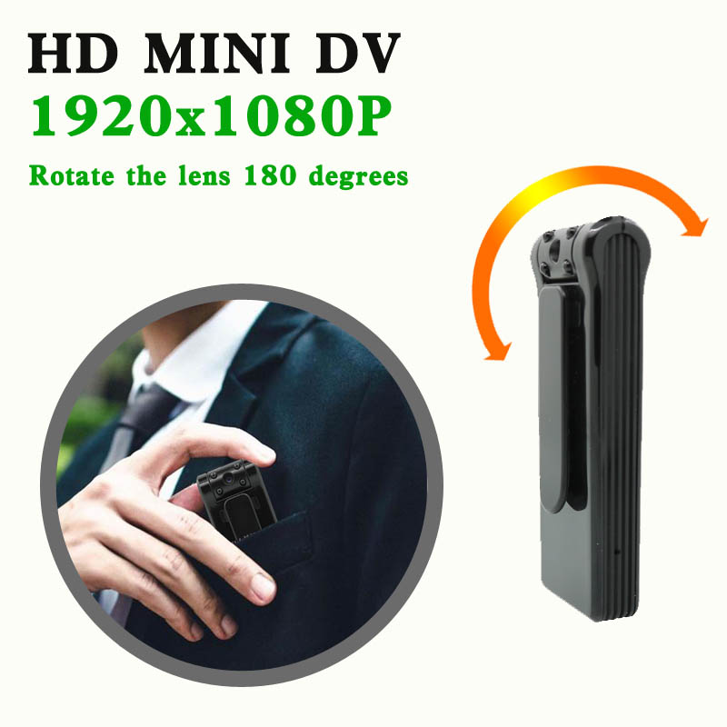 Hot DealsJOZUZE Camera Portable Camcorder Digital-Video-Recorder Miniature Night-Vision HD B19