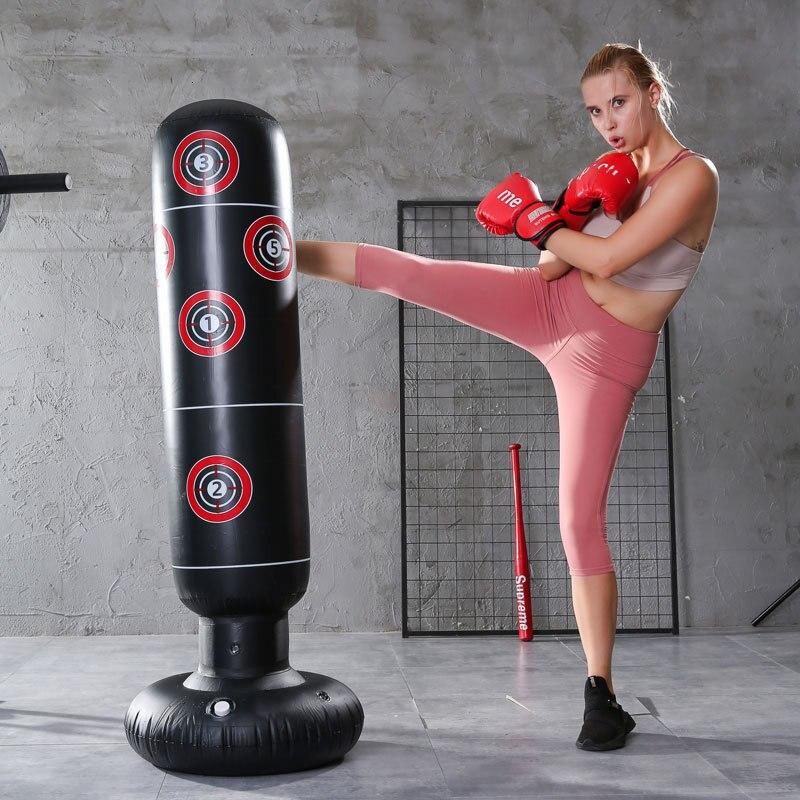 Coluna De Boxe Inflável das Crianças