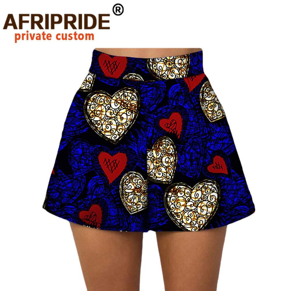 2020 летние женские пляжные шорты, индивидуальные повседневные короткие штаны на заказ, 100% хлопок, африканские шорты с принтом в виде батика ...