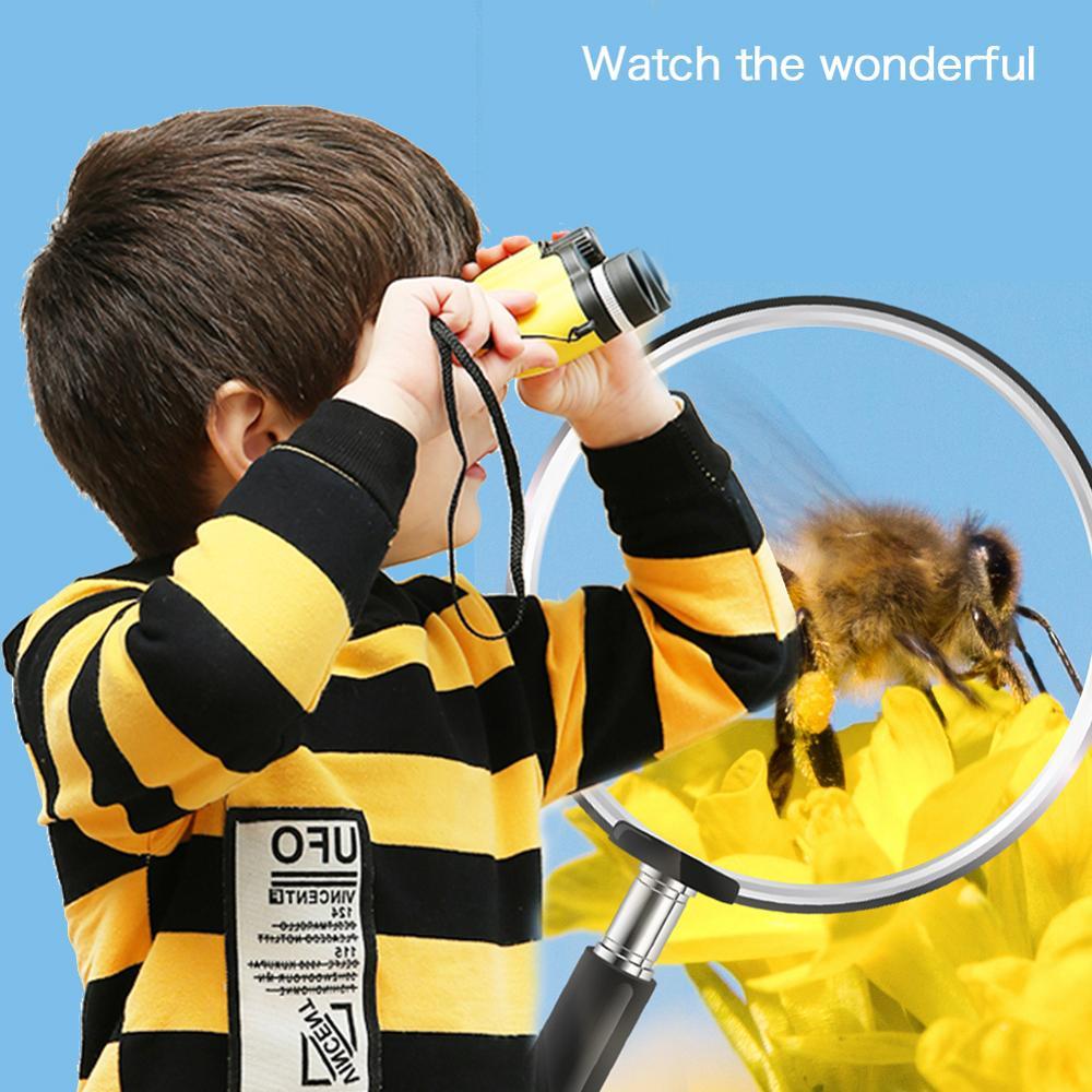 Children'S Telescope Telescope Binocular Hd High Magnification Portable For Travel Adventure Sightseeing Hunting