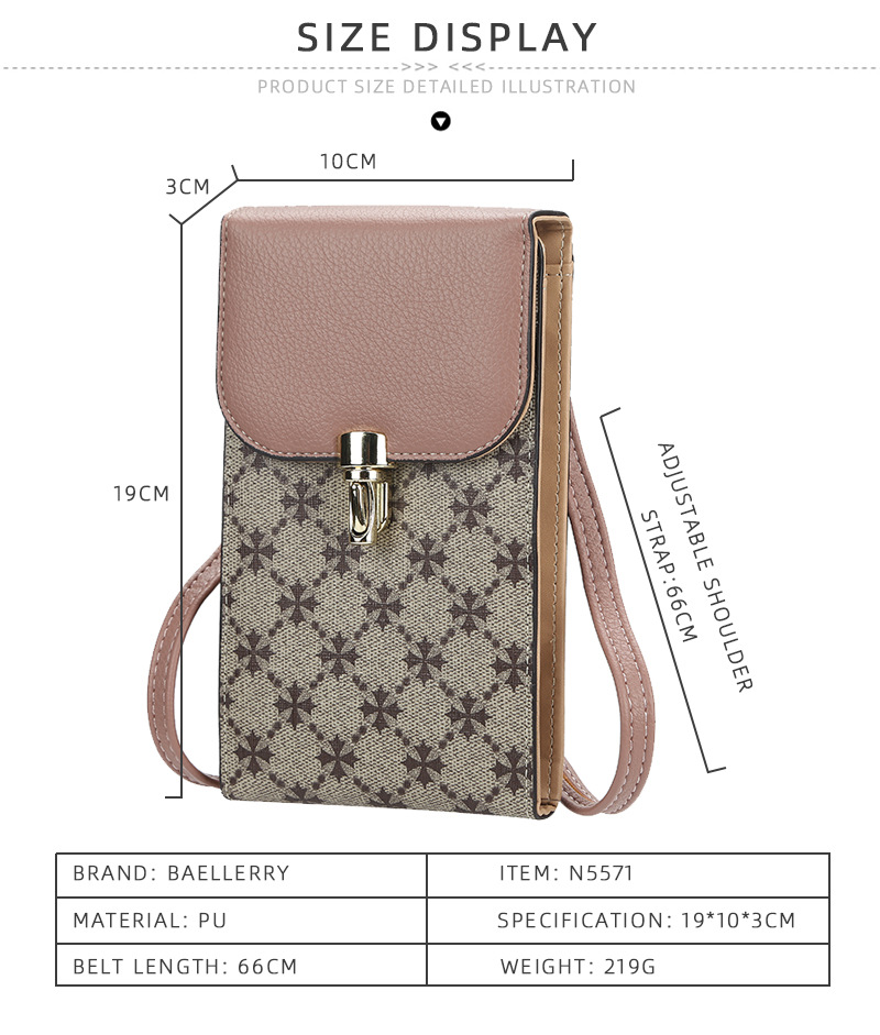 do telefone novo estilo sacos de moda pequenos sacos para a menina