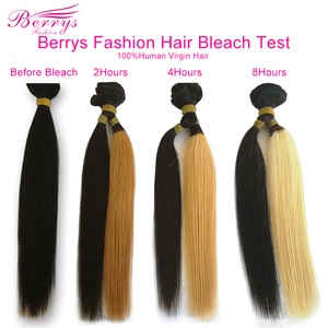 Image 4 - [Berrys Fashion]Brazilian 10A Grade Virgin Hair Straight 100% Unprocessed Human Hair Bundles Raw Weave 1/3/4 PCS Hair Extensions