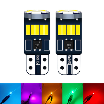 2pcs Good Quality Car Brake Trunk Interior T10 LED For Suzuki Swift Bmw F10 X5 E70 E30 F20 E34 G30 E92 E91 M Volvo XC90 S60 image
