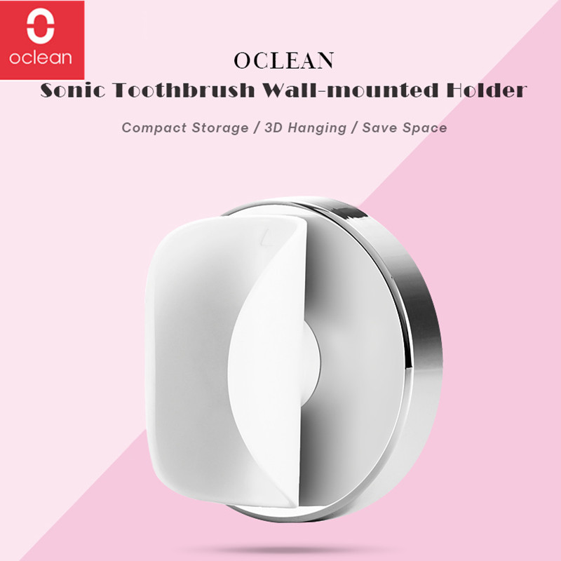Original Oclean Replacement Brush Head 2Pcs For Oclean Air Electric Toothbrush /Oclean Air Wall-mounted Holder