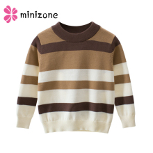 лучшая цена 1-9Yrs Boys Girls Sweaters Autumn Winter Kids Knitted Sweaters Pullover Casual Kids Tops Baby Girl Winter Clothes Boys Sweater Y