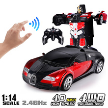 RC Car 1:14 Gesture Sensing Electric Transformation Robots M