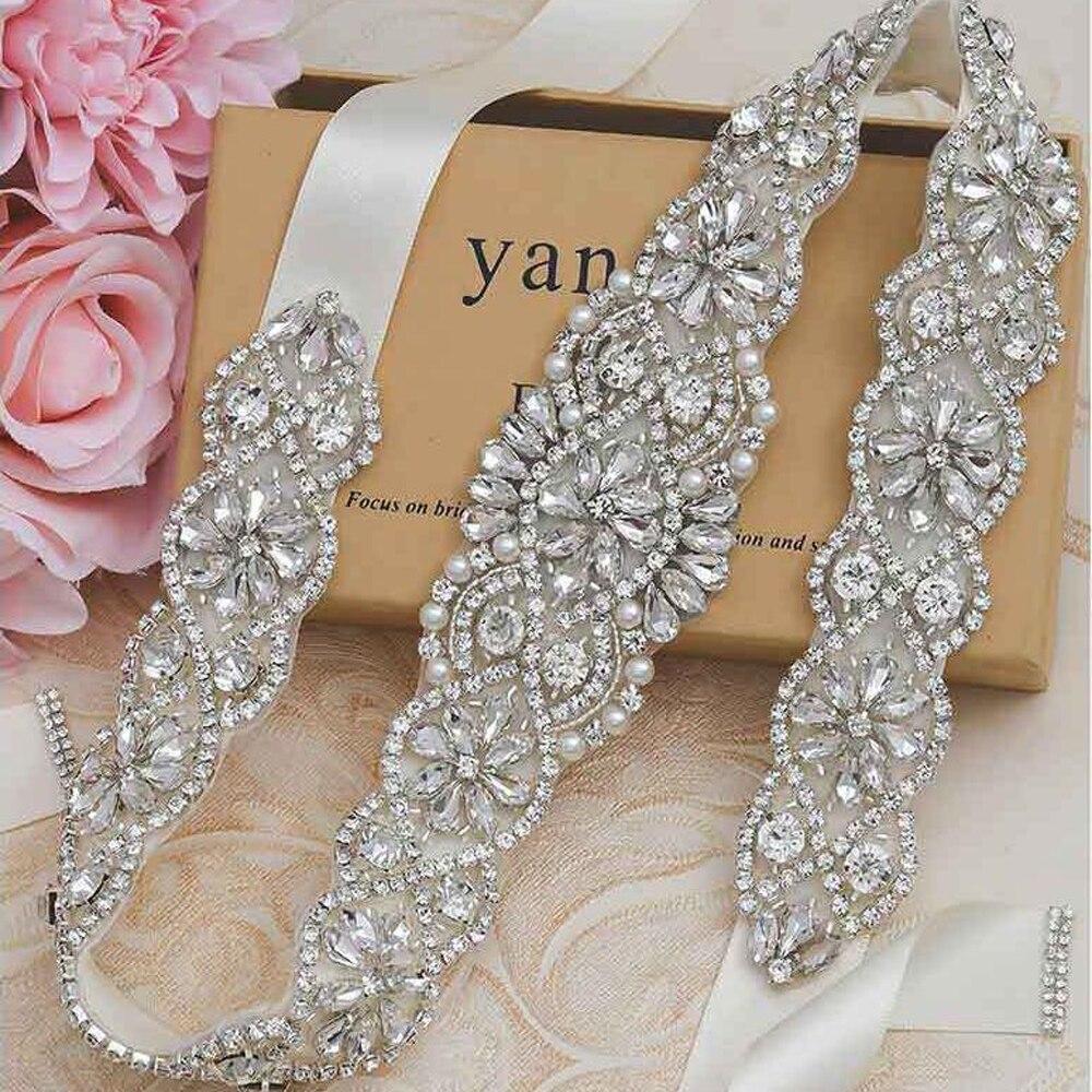 Removeable Belt Bridal Wedding Dress waist cover handmade bridal belt luxury class water diamond exquisite waist cover