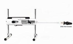 Image 2 - IGRARK Premium Mute Sex Machine Vac u Lock Turbo Gear Power 120W With Free Big Dildo Love Machine For Woman Sex Product