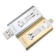 Hot USB Flash Drive USB Pendrive for iPhone Xs Max X 8 7 6 iPad 8/16/32/64/128 256GB Memory Stick USB Key MFi Pen drive цена