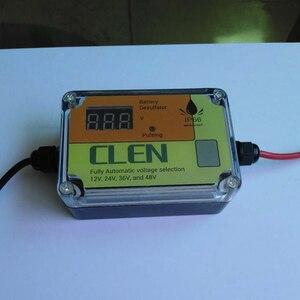 Image 4 - Déulfateur Intelligent de batterie dimpulsion automatique de CLEN 2A 200AH pour relancer et régénérer les Batteries pour des Batteries au plomb