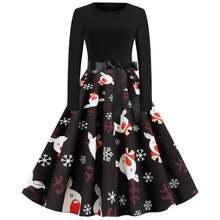 Рождественское платье для девочек вечерние женские ботильоны