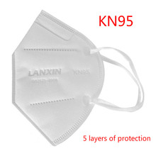 10Pcs Mask N95 Face Mask PM2.5 95% Filtration Gas N95 Mask Dust Particles Pollution Outdoor Protective