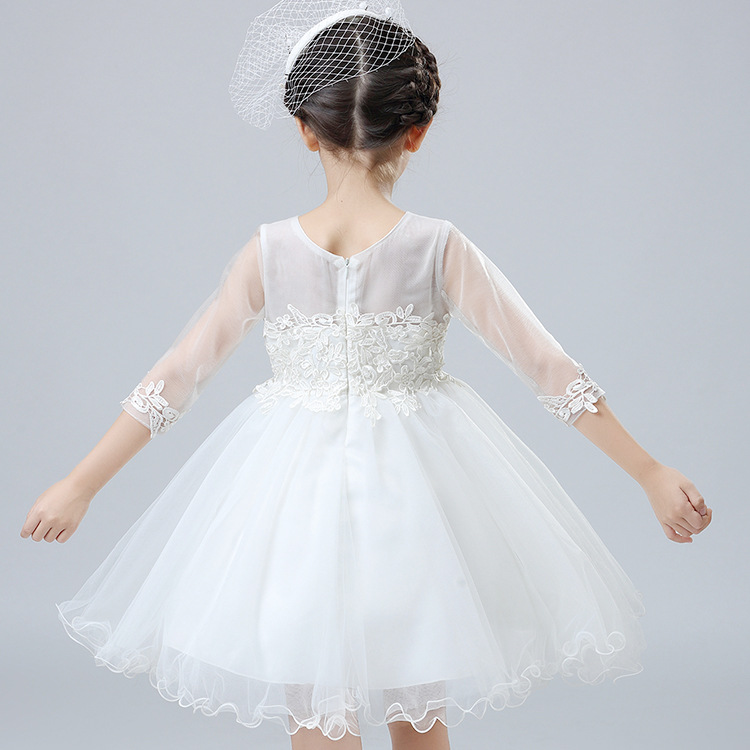 Korean-style Girls Dress CHILDREN'S Dress Big Boy Tutu Costume Spring Girls' Princess Skirt