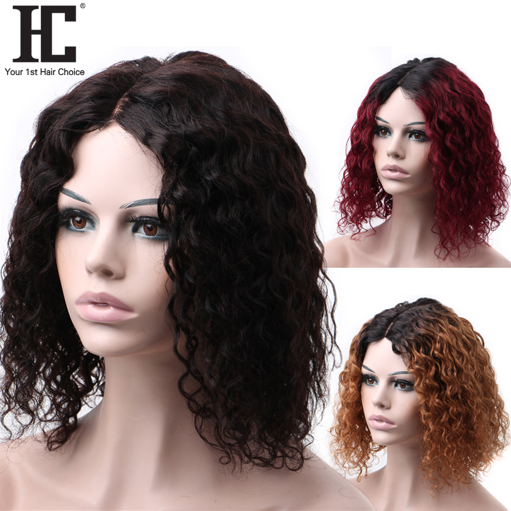 Lace Part Wig Brazilian Water Wave Bob Wig Short Human Hair Lace Wigs For Women 180% Pre Plucked Remy Wigs Natural Hairline
