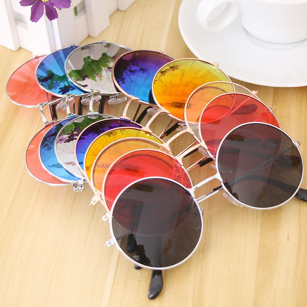 1Pcs Women Fashion Retro Round Plastic Glasses Lens Sunglasses Eyewear Frame Glasses