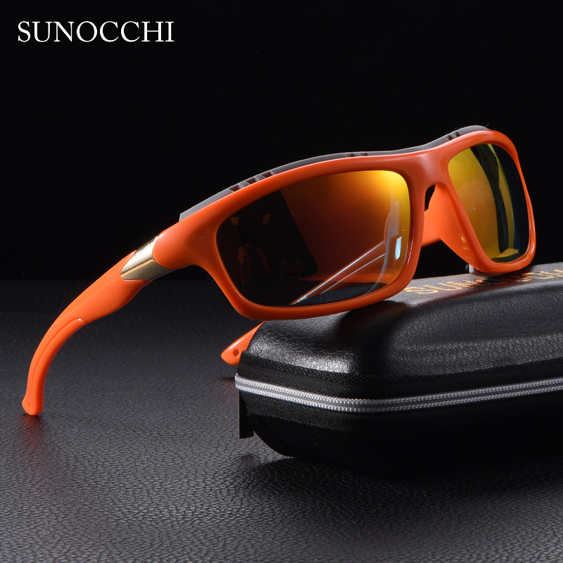 2019 Mens Polarized Goggles Sports Driving Sunglasses UV400 Fishing Men Tactical Sun glasses Steampunk For Male in Men 39 s Sunglasses from Apparel Accessories