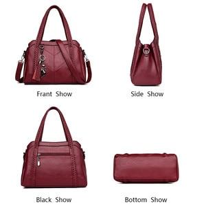 Image 4 - Brand Hot Luxury Handbags Women Bags Designer Bags For Women 2019 Ladies Hand Shoulder Bag Casual Tote Sac A Main Femme Bolsas