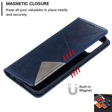 Dla Samsung Galaxy A02S przypadku magnetyczne skórzane etui na Samsung A 02S A32 A52 A72 A12 S20 FE S21 Plus Ultra odwróć telefon pokrywa