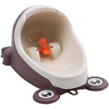 ELEG-New Frog Children Potty Toilet Training Kids Urinal for Boys Pee Trainer Bathroom(China)