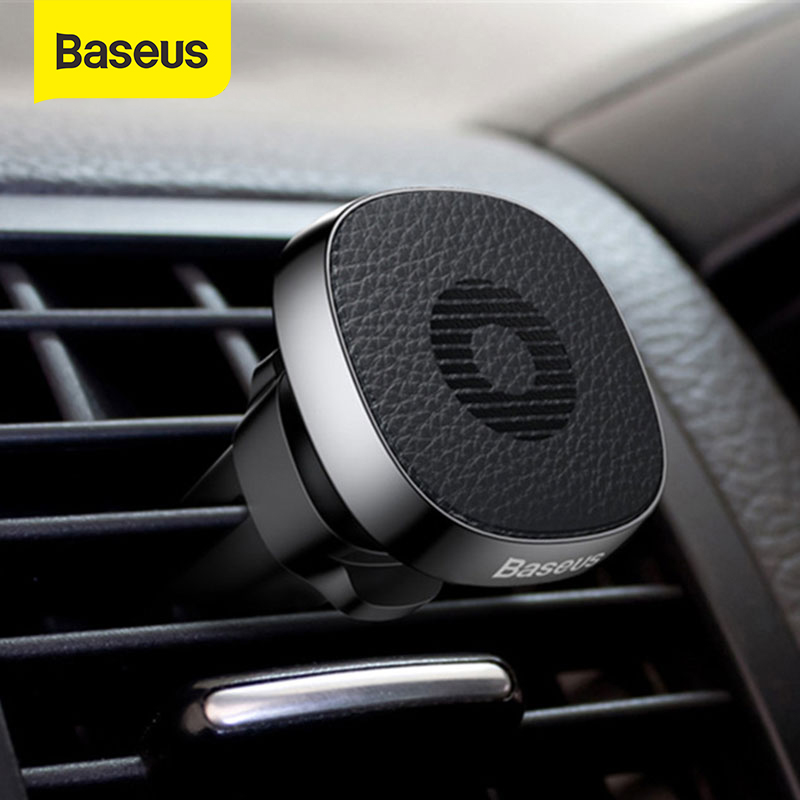 Baseus Magnetic Car Holder Air Outlet Phone Stand Holder Mount For IPhone X Xs XR Samsung S9 Magnet Mobile Phone Holder In Car