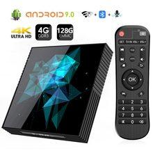 אנדרואיד טלוויזיה תיבת 9.0 A95X Z2 Rockchip 4GB 32GB 64GB 128GB 2.4/5.0G WiFi BT Google לשחק 4K החכם אנדרואיד תיבת טלוויזיה PK H96 מקס RK3318