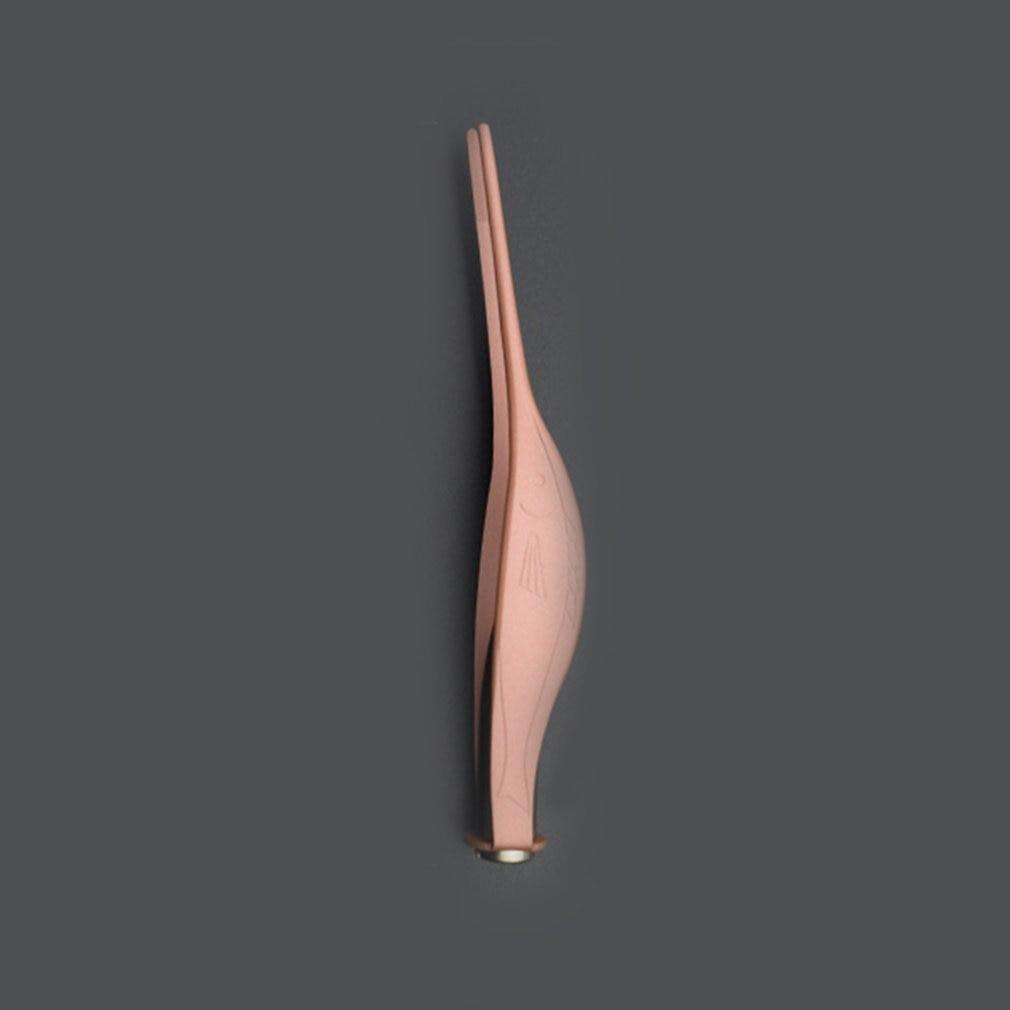 Светодиодный фонарик, пинцет для чистки ушей, инструмент из нержавеющей стали, пинцет, инструмент для удаления ушей, Портативный уход за уша...