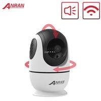 ANRAN-Cámara de seguridad IP inalámbrica para el hogar, dispositivo de videovigilancia IP de 1080P HD para CCTV con tecnología PTZ, con audio bidireccional y wifi