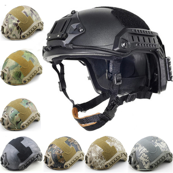 цена на New FAST Helmet Airsoft MH Camouflage Tactical Helmets ABS Sport Outdoor Tactical Helmet