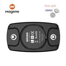 Ремешок magene H6M для контроля сердечного ритма на груди, Bluetooth 4,0 ANT +, водонепроницаемый датчик сердечного ритма для Garmin Wahoo CooSpo
