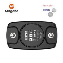 Magene-Correa con dispositivo de control de ritmo cardíaco H6M, Bluetooth 4,0 ANT +, Sensor de ritmo cardíaco impermeable para Garmin Wahoo CooSpo
