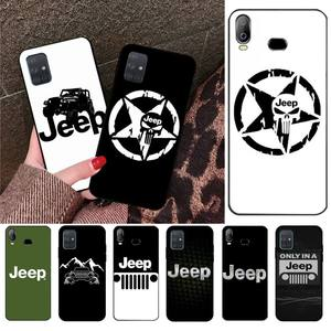 YJZFDYRM Jeep cool car Phone Case For Samsung Galaxy A01 A11 A31 A81 A10 A20 A30 A40 A50 A70 A80 A71 A91 A51
