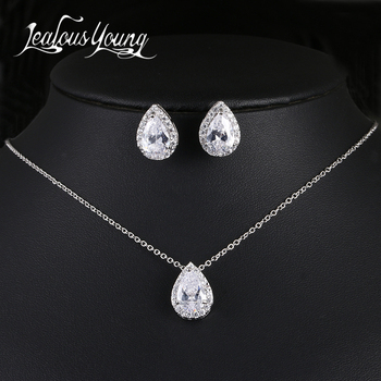 Luxury Crystal Bridal Jewelry Set 1