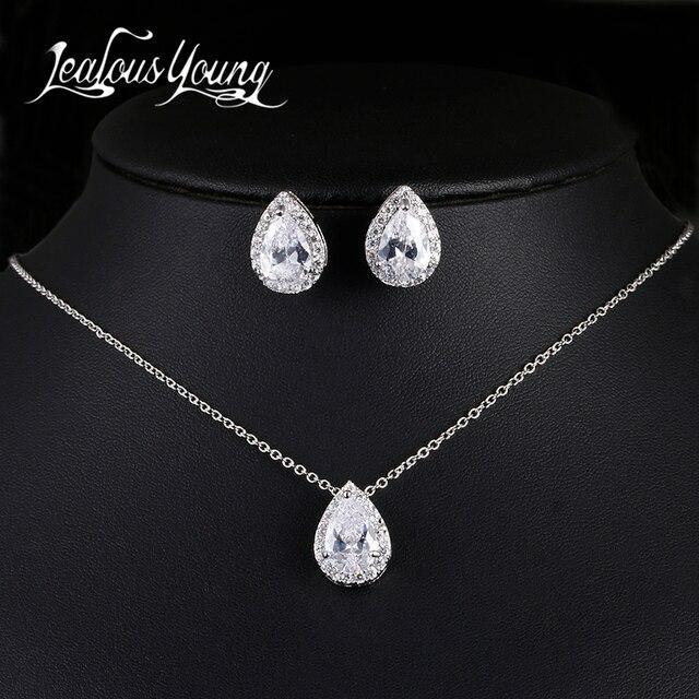 Luxury Crystal Bridal Jewelry Set 1