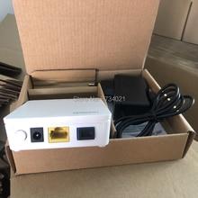 100% New, Free shipping 6Pcs Huawei hg8310m fiber optic onu gpon modem 1GE gpon ont router English firmware gpon ont device
