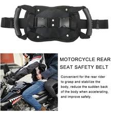 Cinto universal para motocicleta, proteção para assento traseiro de motocross com alça antiderrapante