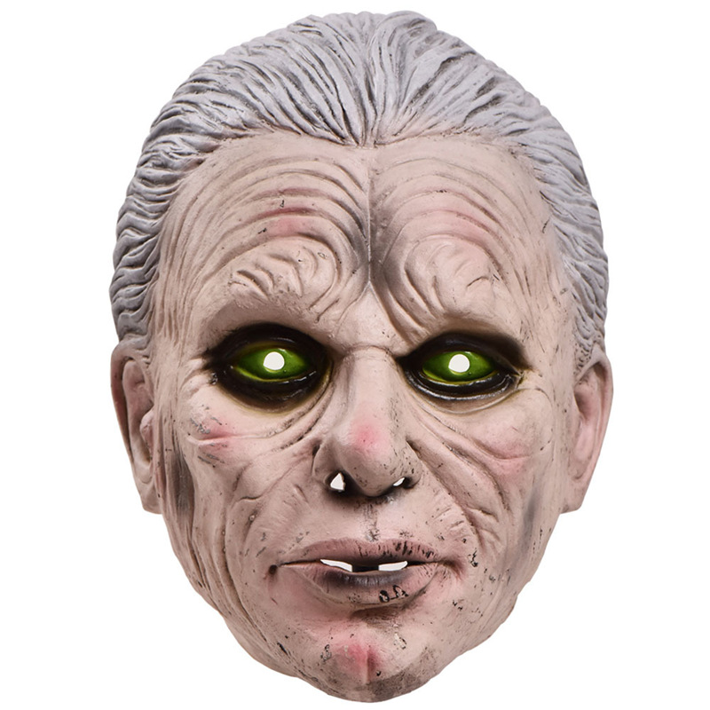 New Scary mask demon devil latex Masks Halloween movie cosplay decoration Party Supply Adults Horrible image