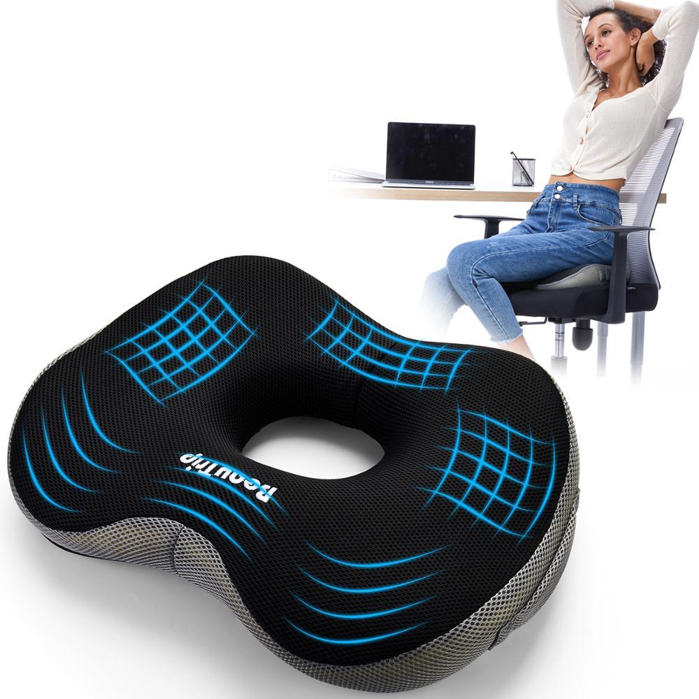 Пенная Подушка сидение с запоминанием офисное кресло тормозные колодки для Ортопедическая подушка для копчика для сидения, подушка для бол...