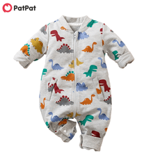Jumpsuit Dinosaur Patpat Baby-Boy Bodysuits Spring And for Allover New