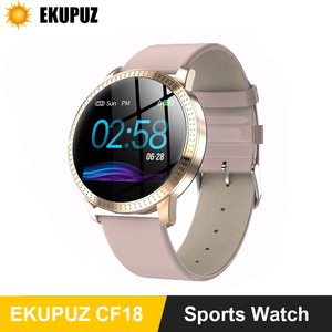 Image 1 - Waterproof Smart Watch Women Lovely Bracelet Heart Rate Monitor Sleep Monitoring Smartwatch Connect IOS Android Wristband
